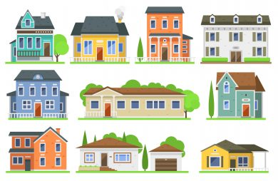 Haus oder Wohnung