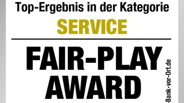"FAIR-PLAY Award ""Banken"""